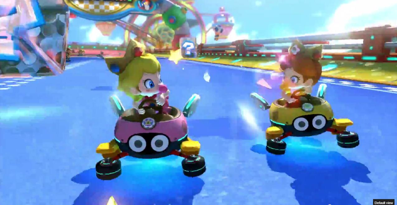 Baby Mario Mario Kart 8: All Of Mario Kart 8 DLC Pack 2 Courses Announced; Baby