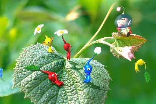 olimar-and-pikmin