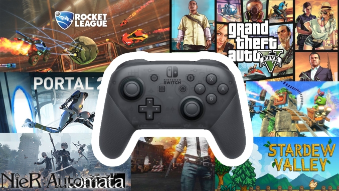 Steam Nintendo Switch Pro Controller Support Image